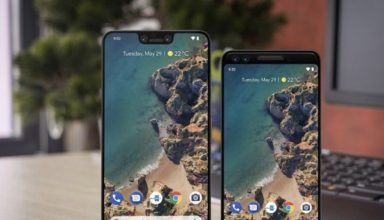 Google Pixel 3 standing